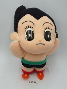 "Astro Boy A1512 Mighty Atom Flying Banpresto 1992 Plush 6"" Doll Japan"