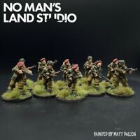Pro Painted 28mm WW2 British Airborne Squad Suitable for Bolt Action