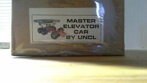 GERRY ANDERSON - Thunderbirds Master Elevator Car. Resin & Mix Media Model Kit