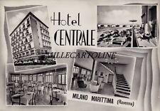 MILANO MARITTIMA:  Hotel Centrale     1962