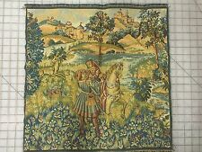 "New Italian Tapestry Romance by the Lake 20"" X 20"""