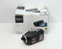 SONY HANDYCAM HDR-PJ220E PROJECTOR CAMCORDER BOXED HD HIGH DEFINITION 32GB CARD