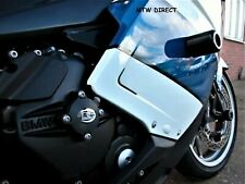 R&G Racing Pair Black Classic Crash Protectors for BMW K1200S (All Years)