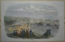 August 1854 - ILN view BIARRITZ, AQUITAINE, FRANCE