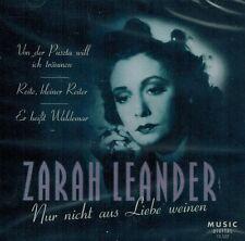 CD NEU/OVP - Zarah Leander - Nur nicht aus Liebe weinen