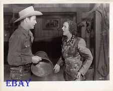 Roy Rogers Lynne Roberts VINTAGE Photo Eyes Of Texas