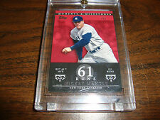 Mickey Mantle---2007 Topps Moments & Milestones---Card #76---1/1