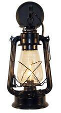 Rustic Lantern Wall Mounted Light - Large Black by Muskoka Lifestyle Products