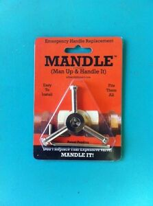 MANDLE, the Universal Valve Repair Handle - Garden Faucet, Hosebib Replacement