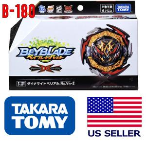 Takara Tomy B-180 Dynamite Belial Beyblade Burst DB Booster US SELLER