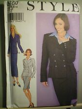 Style Female Suit Sewing Patterns
