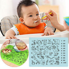 Reusable Silicone Placemat For Kids Table Place Mat Heat Resistant Baking S