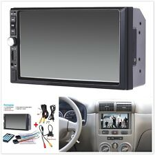 1x 7inch 2Din Car Mp5 Player Bluetooth Touch Screen Stereo Radio Hd+Rear Camera (Fits: Hyundai Accent)