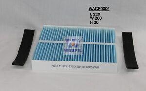 WESFIL CABIN FILTER FOR NISSAN PATROL GU II III IV Y61 00-03/07 ZD30 3.0 RCA113P