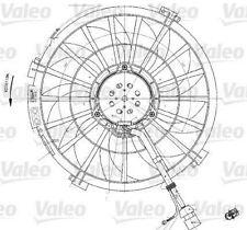 VALEO 698542 Fan, radiator  for CITROEN PEUGEOT DISPATCH 806 SYNERGIE EXPERT