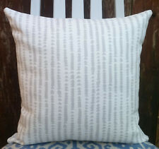 "Cushion Cover/16""x16""/double sided John Lewis XANDER Fabric"