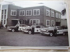 1959 PLYMOUTH POLICE CAR FLEET 11 X 17  PHOTO   PICTURE