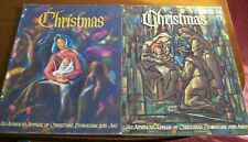 AMERICAN ANNUAL OF CHRISTMAS LITERATURE AND ART VOLs. 31 & 37 1961, 67 Augsburg