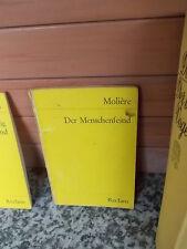 Der Menschenfeind, von Moliere, aus dem Reclam Verlag