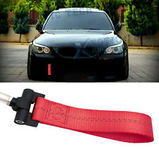 Red Racing Tow Strap Hook For BMW Exx 1/3/5/6/X5/X6 Z3 Z4 Series