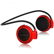 1Pcs Wireless Bluetooth Headset Headphone Earphone For iPhone 7 Red Color BIUS05