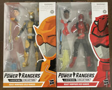 Power Rangers - Lightning Collection: Gold & Red Ranger, 2019, NEW Lot Of 2