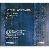 Helmut Lachenmann - : Salut für Caudwell; Les Consolations; Concertini (2010)