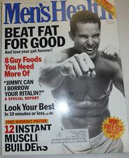 Men's Health Magazine Beat Fat For Good April 2001 030515R
