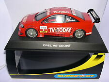 SUPERSLOT H2475 OPEL ASTRA V8 COUPE #8 TV TODAY WINKELHOCK  SCALEXTRIC UK  MB