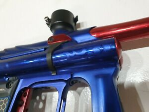 Angel G7 Fly Paintball Marker Blue Red Texas Nitro Special Edition WDP