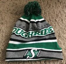 CFL Toque//Hat Authentic KNIT ALPINE Saskatchewan Roughriders