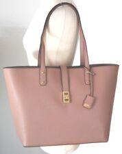 MICHAEL KORS Handtasche Neu Karson LG Leder-Shopper Bag Fawn Nude gold
