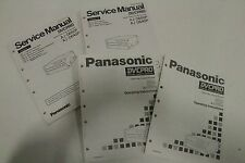 Panasonic AJ-D640 AJ-D650 DVCPRO Digital Video Cassette Recorder Service Manual