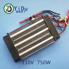 750W 110V PTC ceramic air heater heating element Electric heater 140*76mm