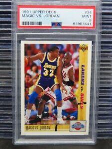 1991-92 Upper Deck Magic VS. Jordan Classic Confrontation #34 PSA 9 (41) D260