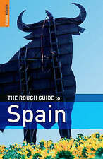 """""""AS NEW"""" The Rough Guide to Spain (Rough Guide Travel Guides), Baskett, Simon, L"""