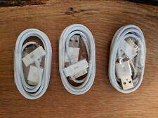 Three 30 pin USB Charging Data/Sync Cable Cord for iphone 4S 4G 3GS iPad2 ipod