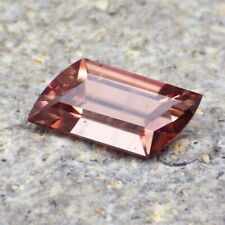 NATURAL UNTREATED ZIRCON-MOZAMBIQUE 3.76Ct CLARITY SI2/P1-PINK LAVENDER COLOR
