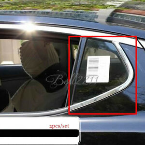 For KIA Optima 2011-2015 Stainless C Rear Window frame Strips Cover trim