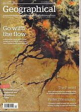 the geographical magazine-APR 2012-GO WITH THE FLOW.