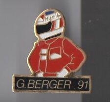 pin's Marlboro / Berger 91 (formule 1)