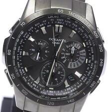 Authentic CASIO OCEANUS Chronograph OCW-M7000J-1AJF Solar Men's Watch_351513