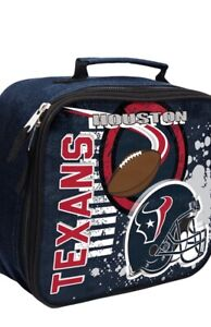 Houston TexansThe Northwest Company Lunch Kit NFL Officially Licensed NWT
