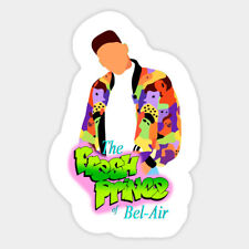 Fresh Prince of Belair Will Smith 90s Funny Vinyl Decal Laptop Car Sticker