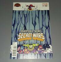 Deadpool's Secret Secret Wars #1 Skottie Young Variant (2015) Marvel Comics