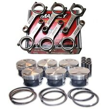 MANLEY PISTONS+H-BEAM RODS FOR TOYOTA 2JZ-GTE 86.5MM 9.0:1 CR 93-98 SUPRA
