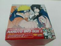Naruto DVD-BOX I First Release Limited Edition From Japan Free Shipping
