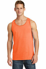New Men's Tank Top Muscle Workout T-Shirt Tie Dye Dyed Died Two Tone Sleeveless