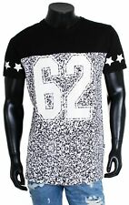 Shine señores t-shirt Long 45336 negro Football fiesta LOOK OPTIK ajuste larga