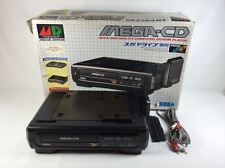 Good Sega Mega-CD Console System Tested w/Box Import Japan JP 0334